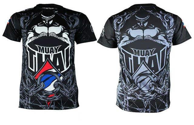 Mmatrunks Promosi Baru Lengan Panjang Tinju K Berlaku Muay Thai BJJ Tinju Kaus Kebugaran Pria Training Gi MMA Boxeo K Berlaku