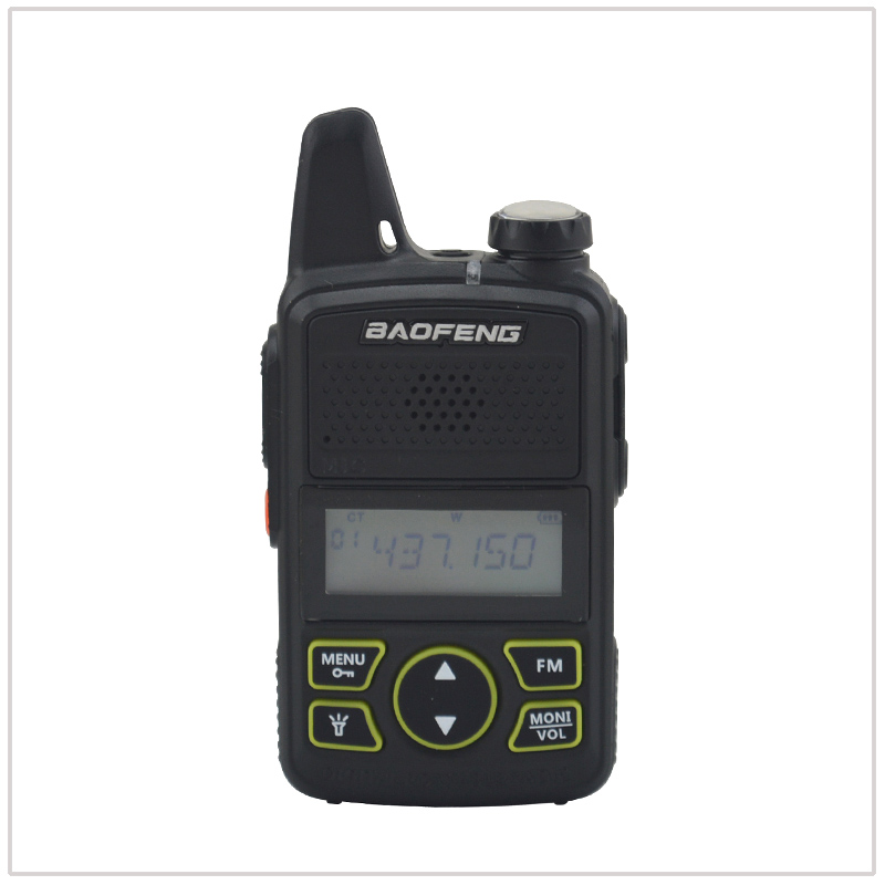 Image 3 - 1pcs x baofeng Mini Walkie Talkie BF T1 UHF 400 470MHz 1W 20CH Small Mini Portable Ham FM Two way Radio With Earpiece-in Walkie Talkie from Cellphones & Telecommunications
