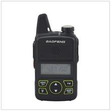 1pcs x baofeng Mini Walkie Talkie BF-T1 UHF 400-470MHz 1W 20CH Small Mini Portable Ham FM Two-way Radio With Earpiece