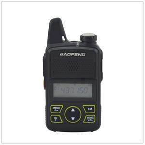 Image 3 - 1pcs x baofeng Mini Walkie Talkie BF T1 UHF 400 470MHz 1W 20CH Small Mini Portable Ham FM Two way Radio With Earpiece