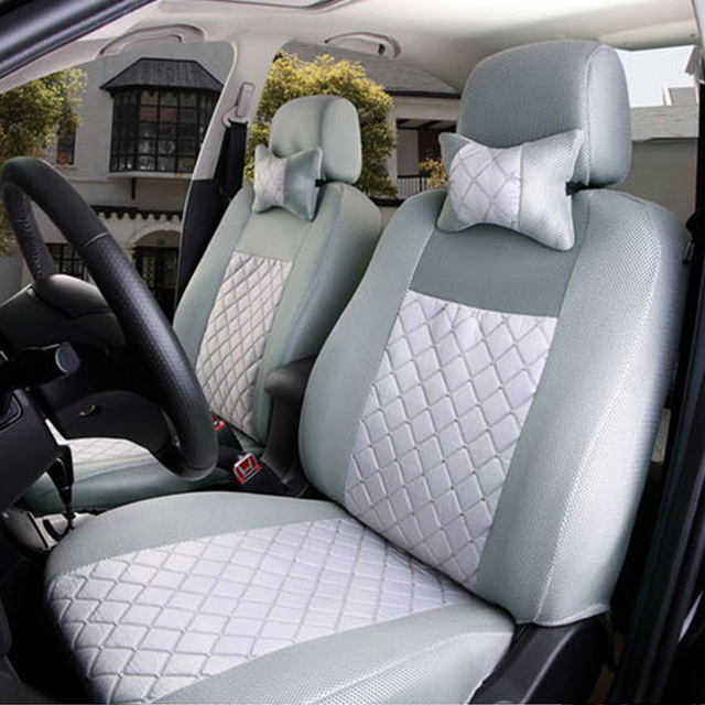 (Front + Rear) Universal car seat covers For Fiat Uno Palio Linea Punto Bravo 500 Panda SUV car accessories auto styling car storage net for bottles groceries storage add on for fiat viaggio bravo freemont fiat 500 palio