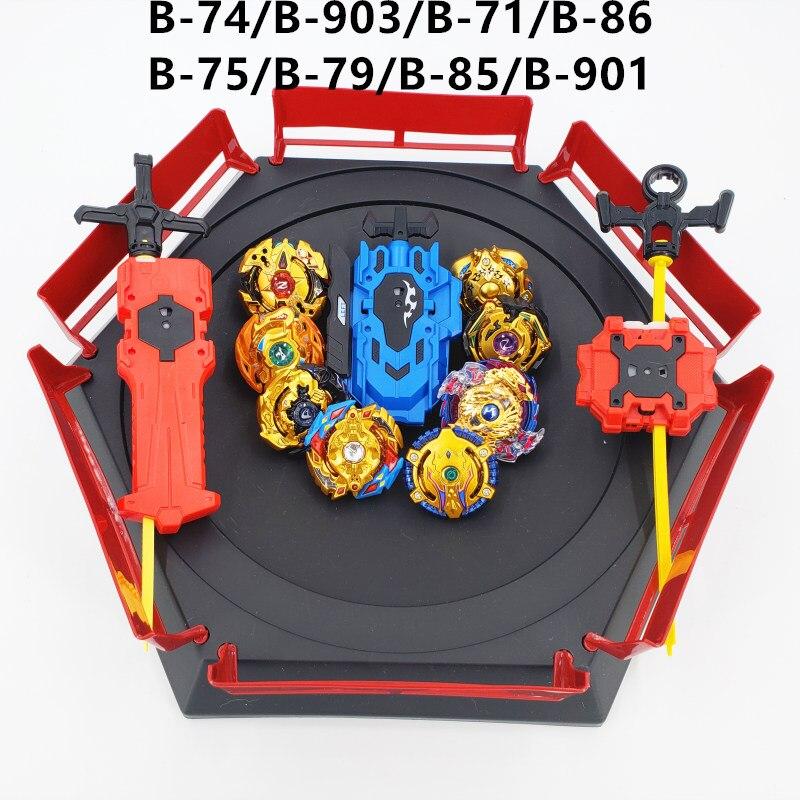 Nouveau costume Beyblade Burst Jouets B-127 B-117 B-115 bables Bayblade arène Toupie En Métal Fusion Dieu Toupie Bey Lame Lames Jouet - 6