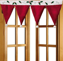 Newly Design Christmas Door Window Drape Curtain Decorative Indoor Home Da Decoracao De Natal Adornos Navidad