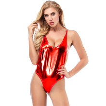 sexy bikini 2019 Bright skin Vest type Shoulder strap Adjustable Sandy beach bikinis swimwear one piece swimsuit women biquini