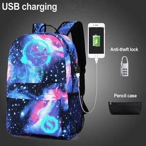 Luminous School Backpack Kids