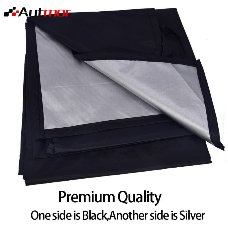 210*120cm Car Truck Magnet Windshield Windscreen Cover Sun Snow Ice Frost Protector Sticker Supplies auto car windscreen snow ice frost windshield roof covers protector 610025