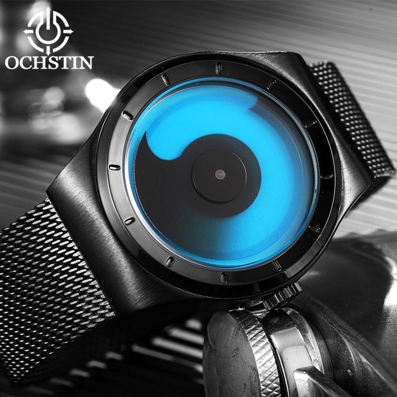 Nieuwe mode top luxe merk OCHSTIN horloges mannen quartz-horloge - Herenhorloges - Foto 4