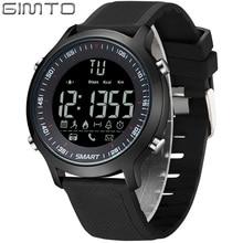 GIMTO Digital Deporte Reloj Inteligente Hombres Reloj Militar Moda Masculina LED A Prueba de agua Cronómetro Hombre relojes de pulsera electrónica de Choque