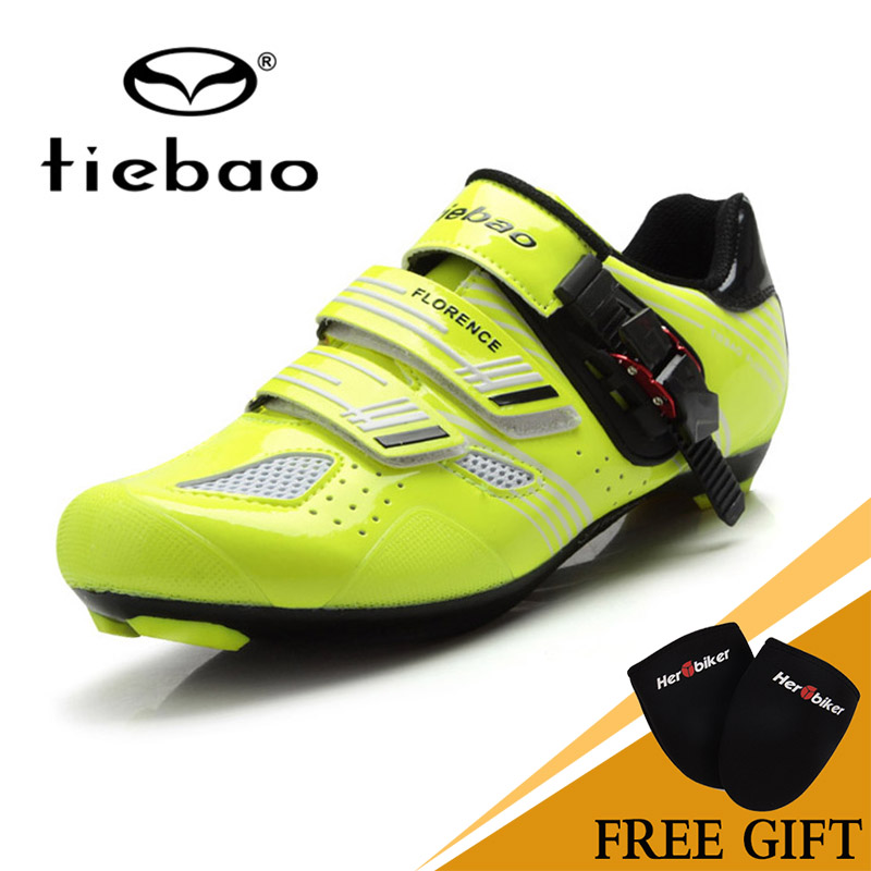 Tiebao  Quality Professional Road Shoes Cycling Equipment Road Cycling Shoes Self-locking Ride Shoes tiebao professional road shoes rotating screw steel wire with fast cycling shoes road bike shoes tb16 b1259