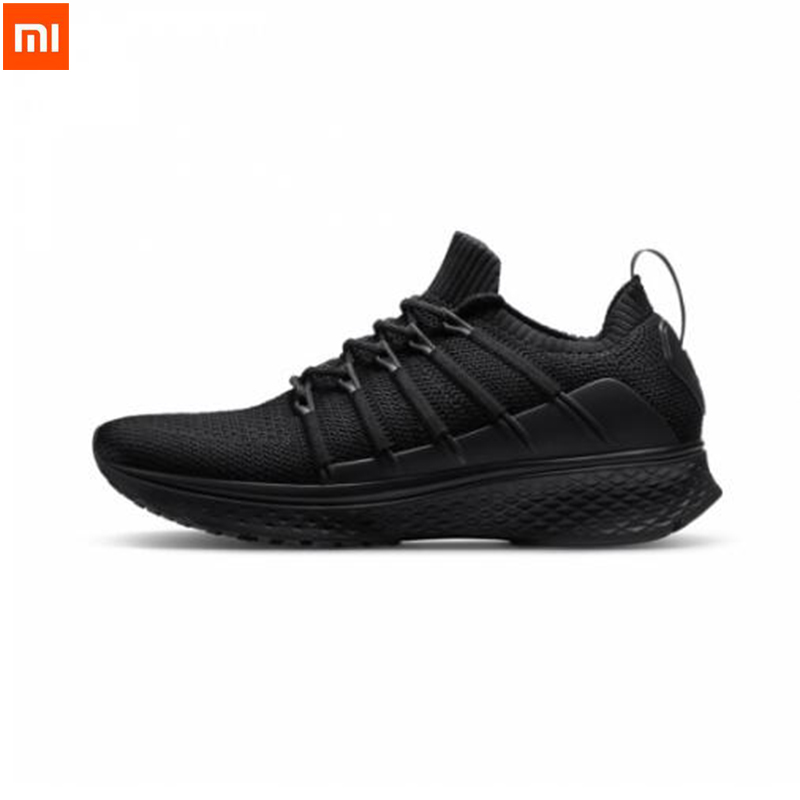 2019 Xiaomi Mijia Sports Shoes Sneaker 2 Uni Moulding Techinique New Fishbone Lock System Elastic Knitting