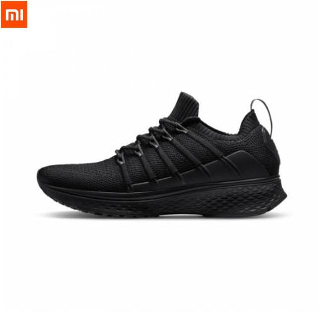 2019 Xiaomi Mijia Sports Shoes Sneaker 2 Uni-Moulding Techinique New Fishbone Lock System Elastic Knitting Vamp Shoes For Men