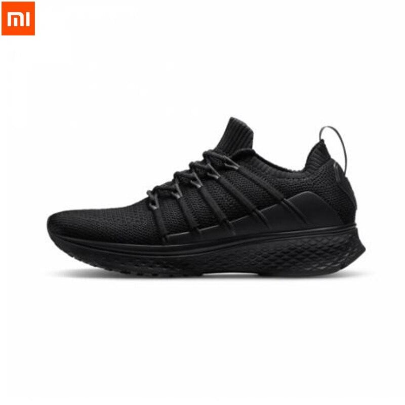 2019 Xiaomi Mijia chaussures de sport Baskets 2 Uni-Moulage Techinique Nouveau Fishbone Serrure Système Élastique Tricot sweat à capuche Pour Hommes