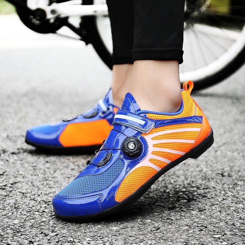Men s Cycling Shoes Road Bike Shoes Mountain Bike Bicycle Women Shoes Blue Red Cycle Sneaker