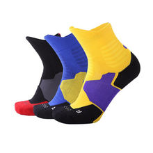Профессиональный Баскетбол носки впитывающие пот дышащие нескользящие