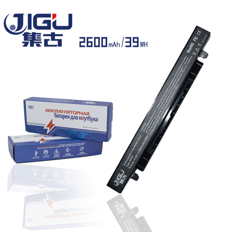 все цены на JIGU New 4Cell Laptop Battery A41-X550 A41-X550A for Asus A450 A450C A450 X550D X550C X550 X450C X550V A550 Series онлайн