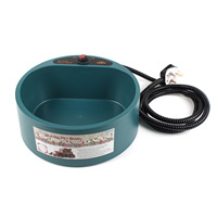 2017 Winter Durable Easy to Clean Heated Dog Bowls Power off Constant Temperature Puppy Bowl Low Output Voltage Safe Dog Feeder