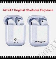 HOYAT Original Bluetooth Earphone Double Bluetooth Earpieces AP1 1 Earphones Headsets Earbuds For Ios Iphone Air
