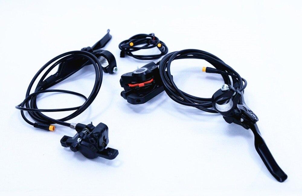 Bafang motor BBSHD BBS02 kit Shi-ma-keine Hydraulische Scheiben Bremse