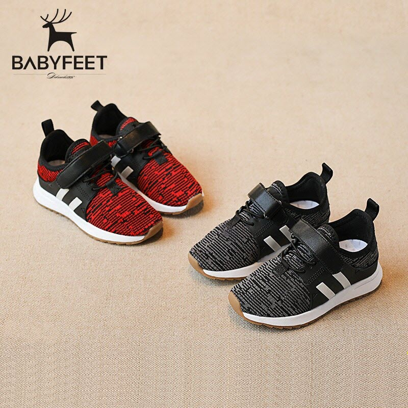 2017 Babyfeet Children Shoes Running kids Sports shoes baby Girls Boy Sneakers tenis infantil chaussure enfant garcon de marque kelme 2016 new children sport running shoes football boots synthetic leather broken nail kids skid wearable shoes breathable 49