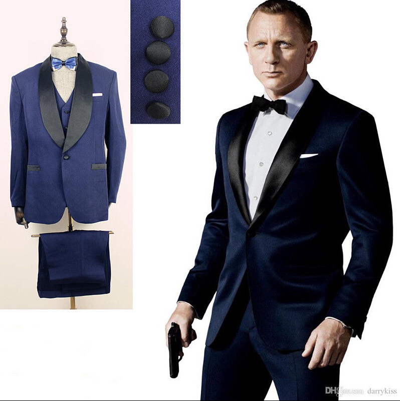 Fashionable Men S Suit Wedding Man Formal Best Suits Customization Coat Pants Vest Tie In From Clothing Accessories On