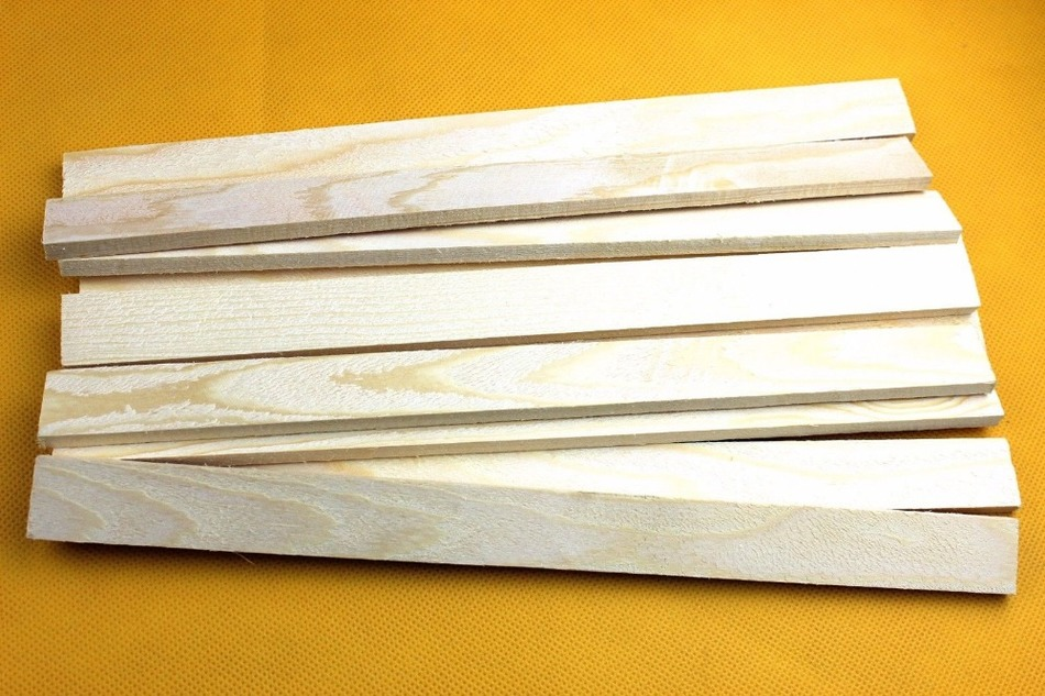 10 Pcs High Quality 4/4 Violin Bass Bar. Violin Making Wood.