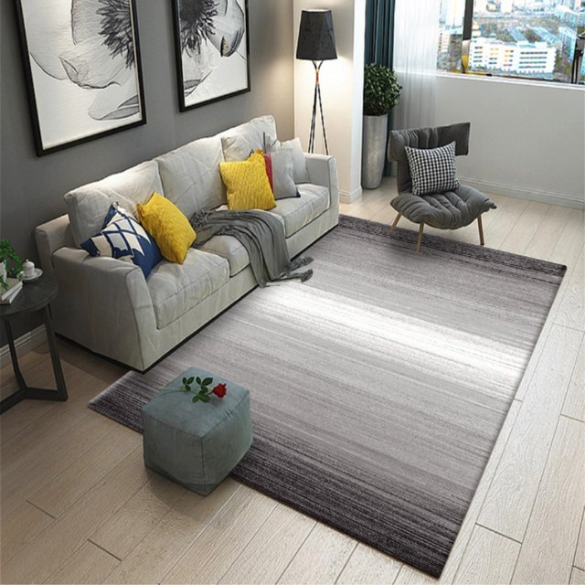 Nordic Style Geometric Large Living Room Carpets Rugs Non Slip Sofa Dining Table Mats Bedroom Rectangle Baby Sleeping Carpet Big