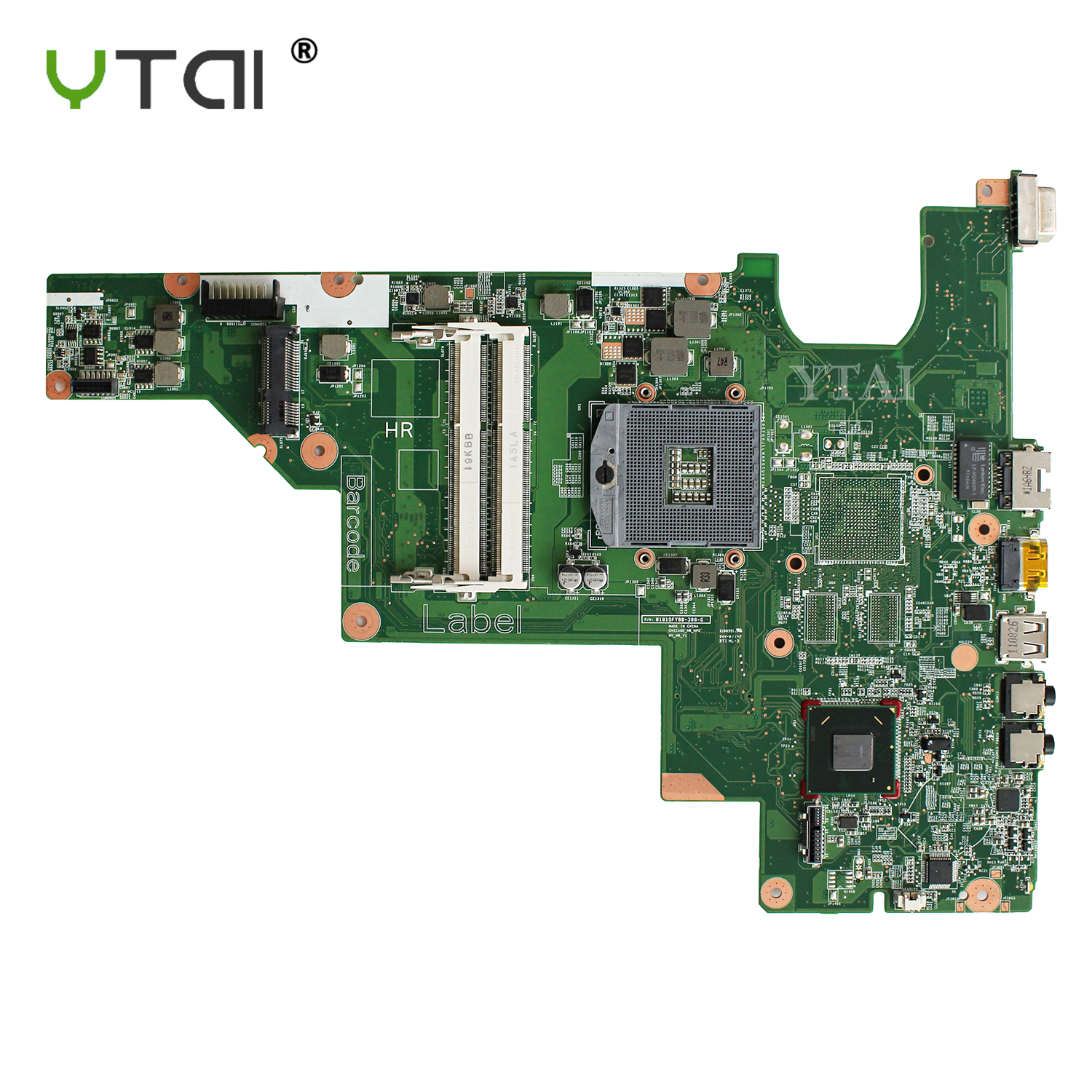 YTAI 646673-001 Mainboard for HP CQ43 CQ57 430 431 435 630 635 Laptop Motherboard DDR3 with HDMI original laptop motherboard for hp cq57 653985 001 15 6 laptop mainboard 100% full test