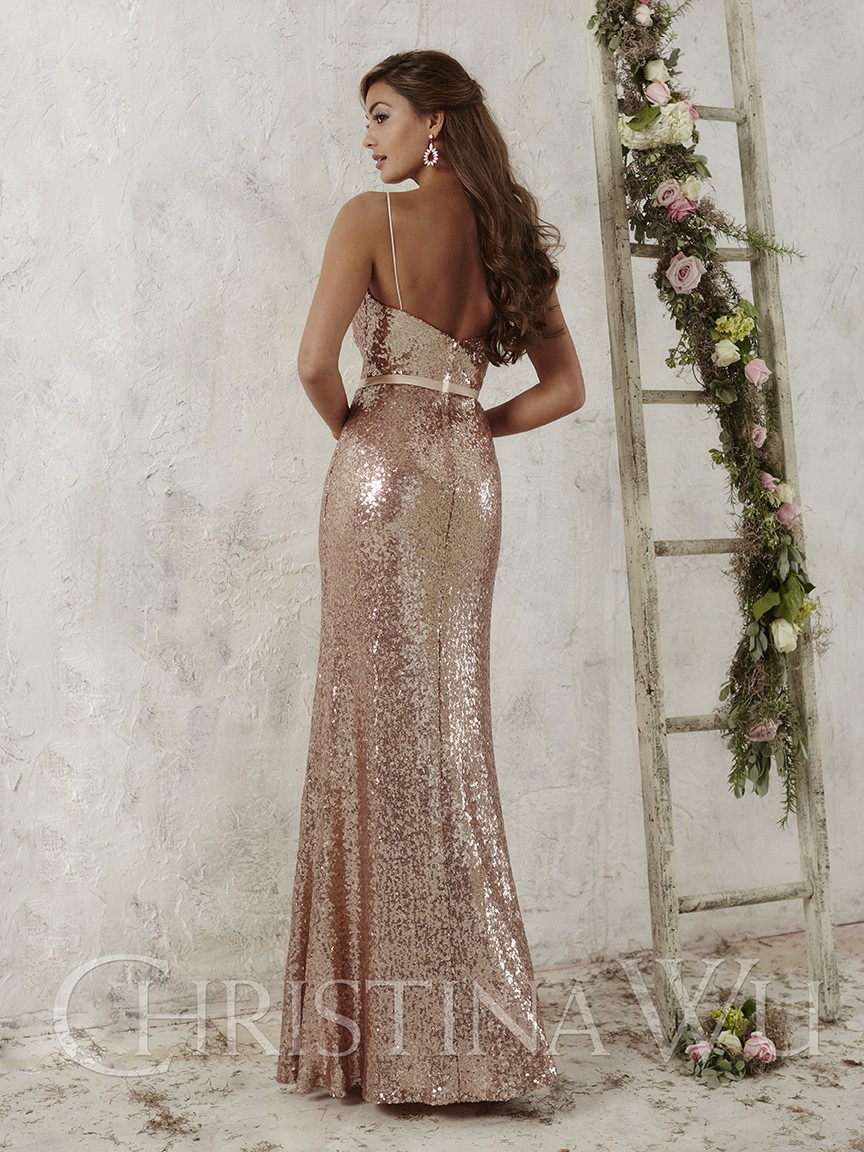 2017 rose gold sequins bridesmaid dresses spaghetti strap maid of 2017 rose gold sequins bridesmaid dresses spaghetti strap maid of honor adult sheath long wedding party gowns 6301502 in bridesmaid dresses from weddings ombrellifo Gallery