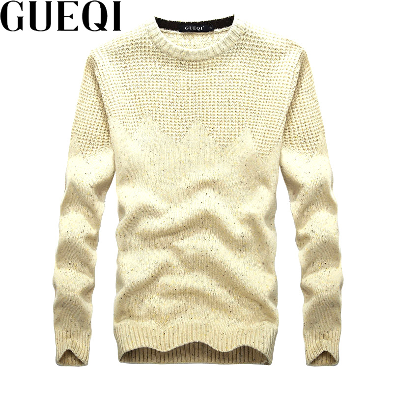 Gueqi brand men knitted pullovers size m 2xl classic printed clothing 2017 stock men jumpers sudaderas