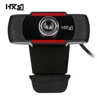 HXSJ Original S20 PC Camera 640X480 Video Record HD Webcam Web Camera With MIC Clip On