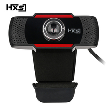 Webcam HXSJ Ban Đầu S20 PC Camera 640X480 Quay Video HD Webcam Camera MIC Kẹp Cho Máy Tính máy Tính Laptop Skype MSN