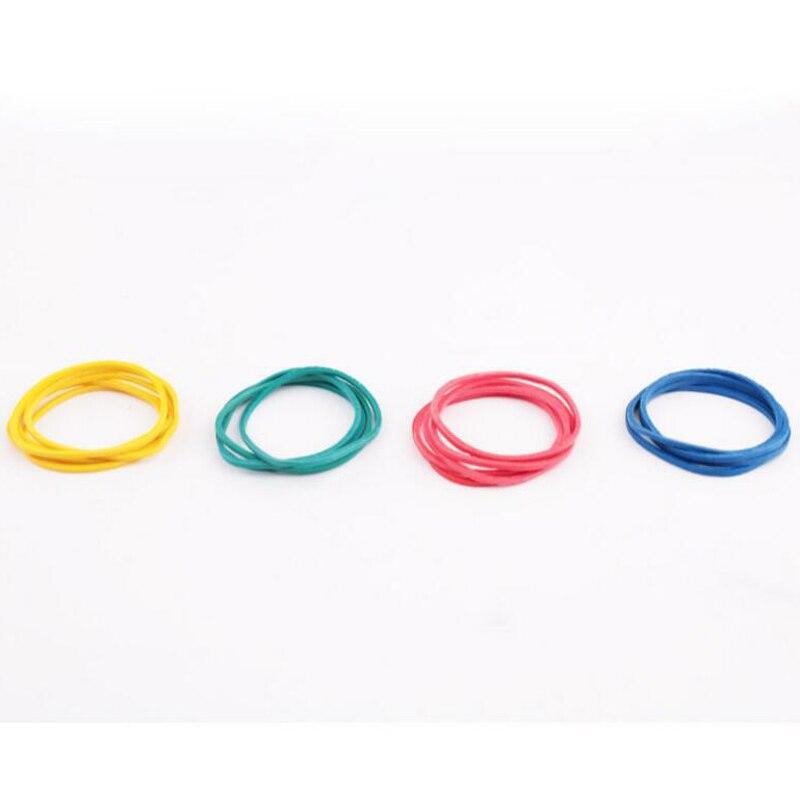 borracha colorido diâmetro 40mm borracha banda anéis