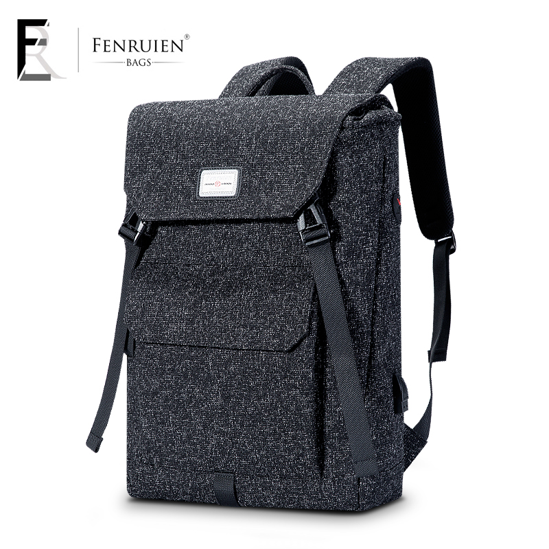 Fenruien School Backpack Men Large Capacity Multifunctional Waterproof Laptop Backpack Fashion Travel Casual Computer School bag men 15 inch laptop business bag outdoor travel hiking backpack large capacity school daypack for tablet pc notebook computer