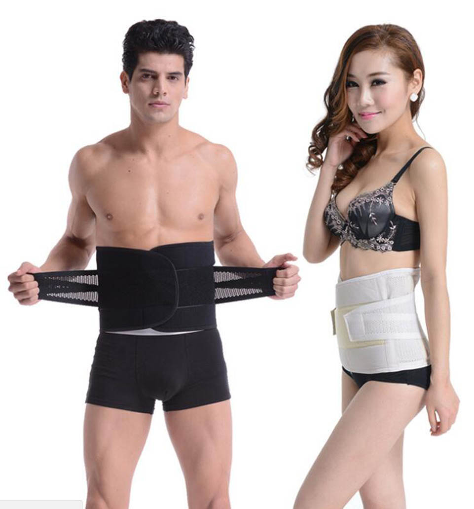 Women Men Posture Back Support Belt Elastic Back Belt Back Brace Support Lumbar Brace Waist Corset Large Size XXL