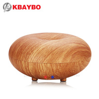 100ml Aroma Essential Oil Diffuser Wood Grain Ultrasonic Cool Mist Humidifier For Office Home Bedroom Living