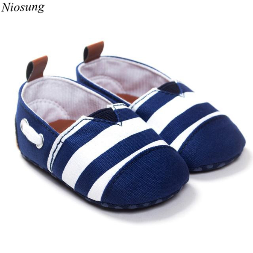 Niosung Baby Toddler Soft Sole Leather Cotton Shoes Infant Boy Girl Newborn Shoes Anti-slip Sport For 0~8 M Babies v