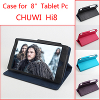 For Chuwi Hi8 Case Four Colors 8 Inch Utra Thin PU Flip Leather Tablet PC