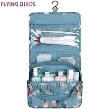 FLYING BIRDS! wash bag Women Cosmetic Bags Multifunction Makeup portable Bag toiletry kits waterproof Travel Bags Lady LS8904fb