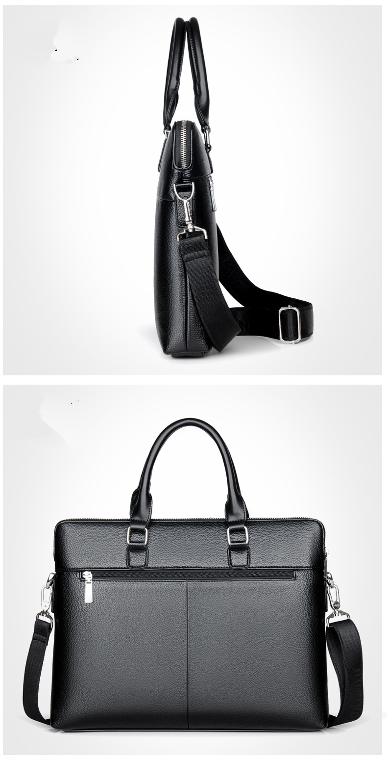 HTB1DDBegUcKL1JjSZFzq6AfJXXaL TIANHONGDAISHU Men Casual Briefcase Business Shoulder Leather Messenger Bags Computer Laptop Handbag Men's Travel Bags handbags