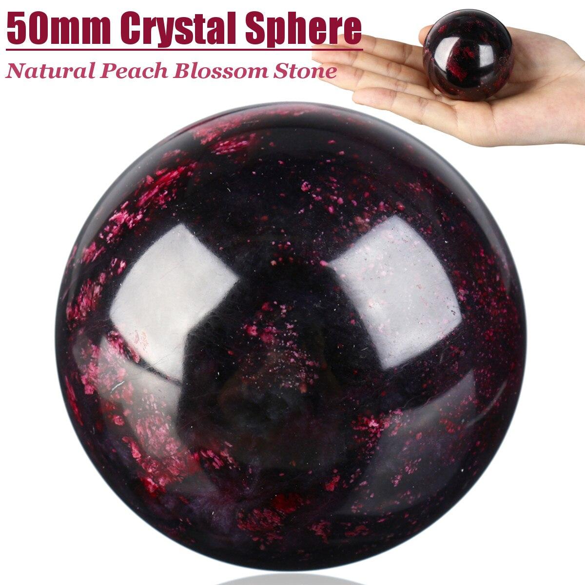Натуральный фиолетовый аметистовый шарик необработанный драгоценный камень полированный модные подарки магический фиолетовый кварцевый ...