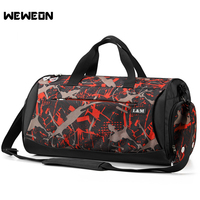 Polyester Outdoor Mens Sports Bag Professional Swimming Fitness Shoulder Gym Bag Hot Female Training Bag With