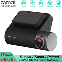 Xiaomi 70mai Pro Dash Cam 1944P GPS ADAS Car DVR 70 mai Dashcam Voice Control 24HParking Monitor 140FOV Night Vision WIFI Camera