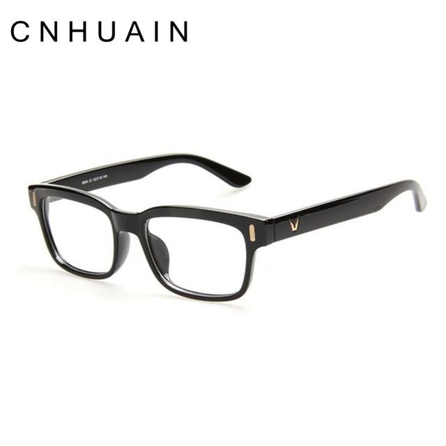 86a7051e812 CNHUAIN Men Eyeglasses Frame Optical Glasses Eyeglass Frames Brand Female  Clear Lens Glasses Frame Women Retro Plain Mirror