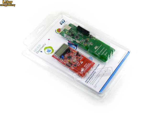 STM32 M24LR DISCOVERY Magical Battery less Board Powered by RFID  STM8L152  and STM32F103