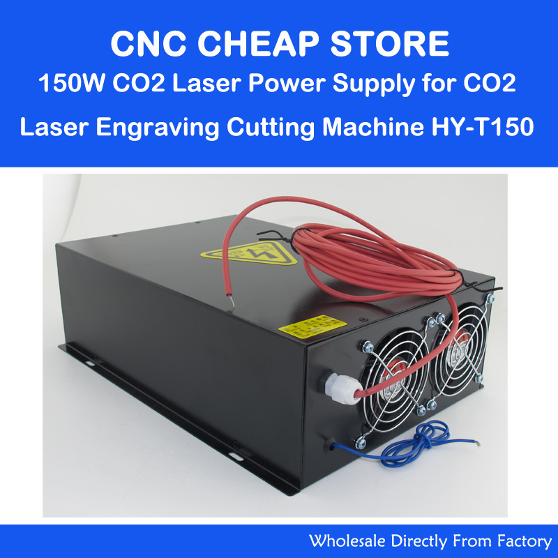 HY T150 220V/110V 150W Tube CO2 Laser Power Supply PSU Equipment DIY Engraver Engraving Cutting Laser Cutter Machine 150