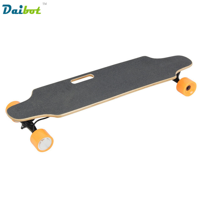 Daibot 400W Hub Motor Four Wheels LG battery Electric Skateboard Scooter Hoverboard Wireless Remote Longboard Hoverboard NO TAX alouette remote control electric skateboard scooter maple wood electric board longboard hub motor dual drive lg battery