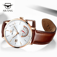 AILANG Original top luxury brand wirst watch men's simple design automatic watches mechanical minimalism starking watch male