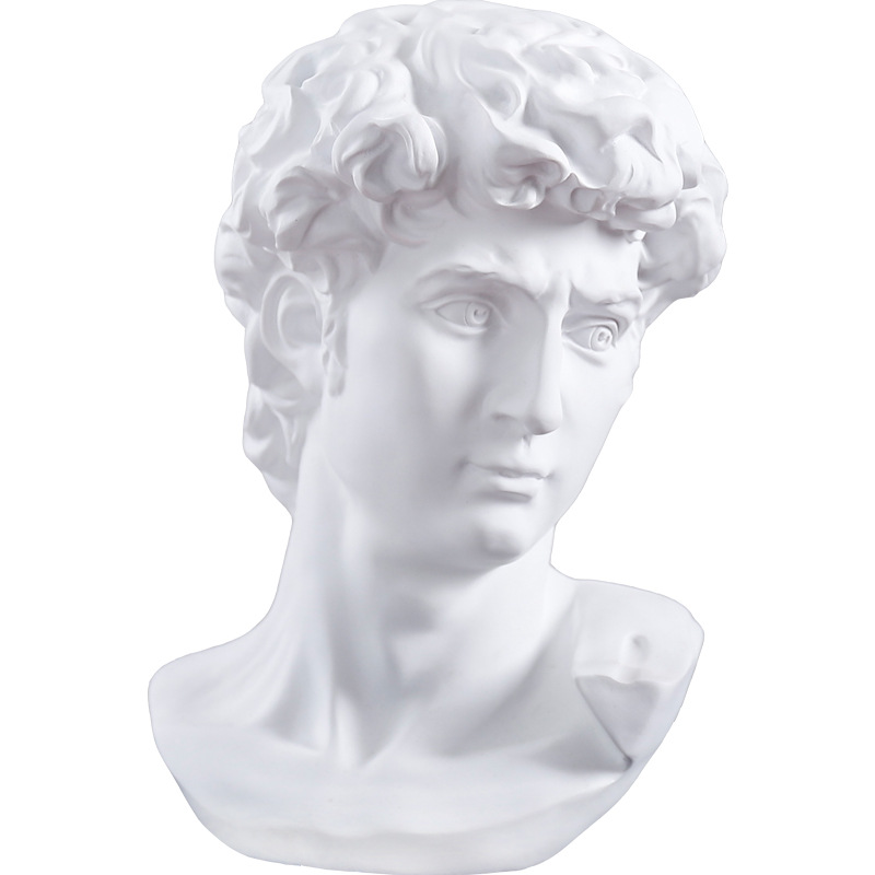 European Greek Character Bust Sketch Resin Ornaments Simulation Venus Character Sculpture Desktop Crafts Home Shop Decor Gifts