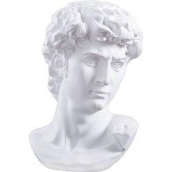 Europeu grego personagem busto esboço resina ornamentos simulação venus personagem escultura artesanato casa loja decoração presentes