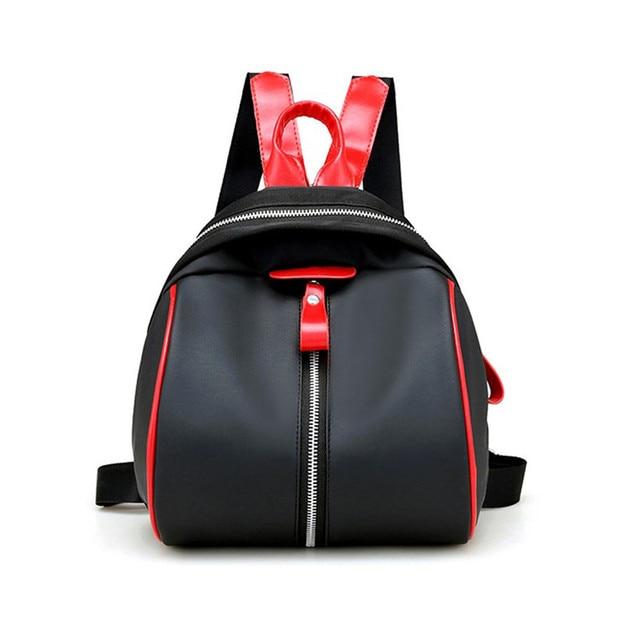 bdcf17a95d 2017 Most Popular Fashion Small Backpack Women Bags Backpack School Bags  Zipper Women s Female s Rucksacks Wholesale A8